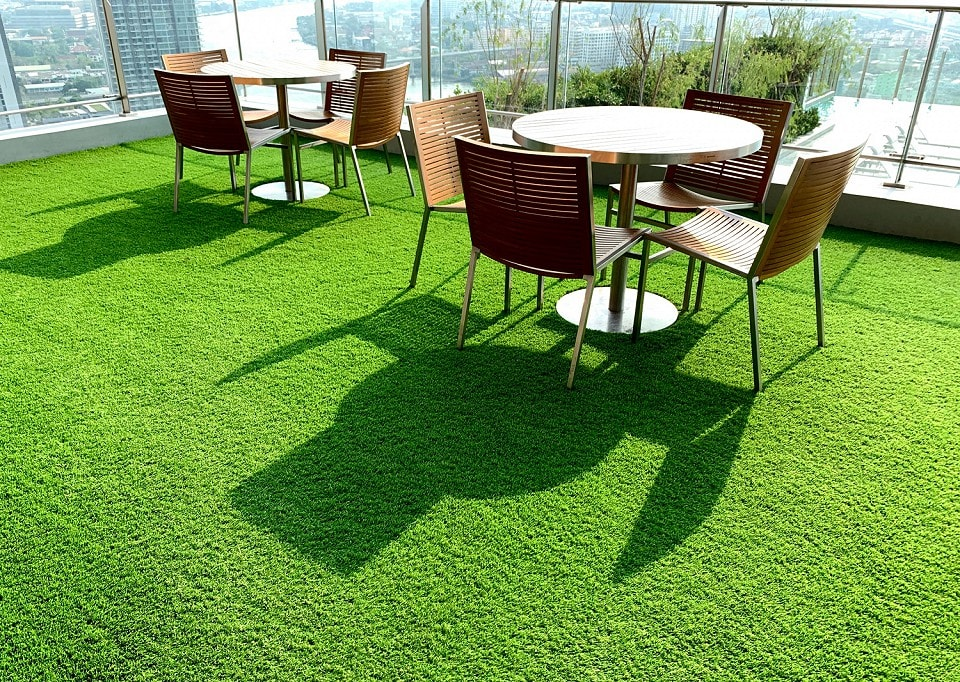 Green Lawns All Year Around with Artificial Grass